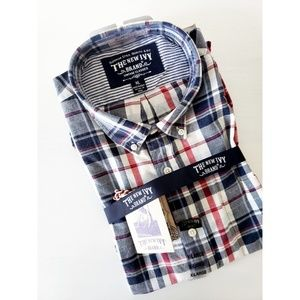 Other - The new ivy plaid button down shirt